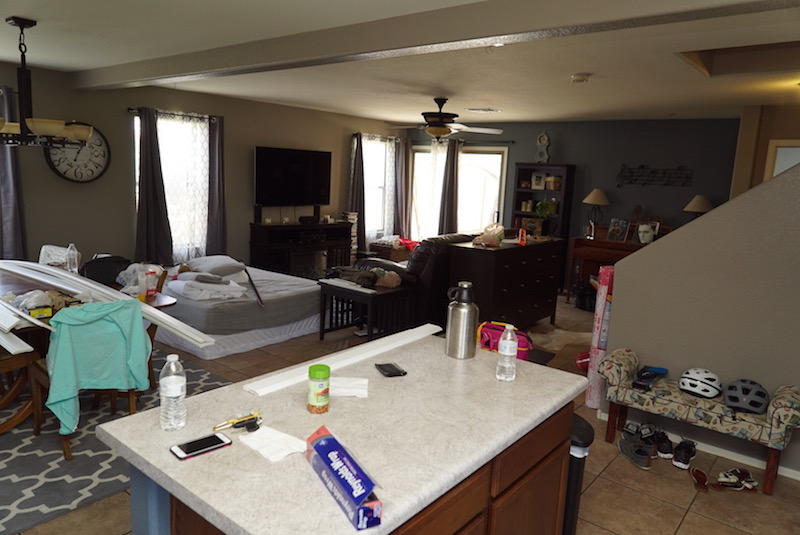 home renovation tips messy house