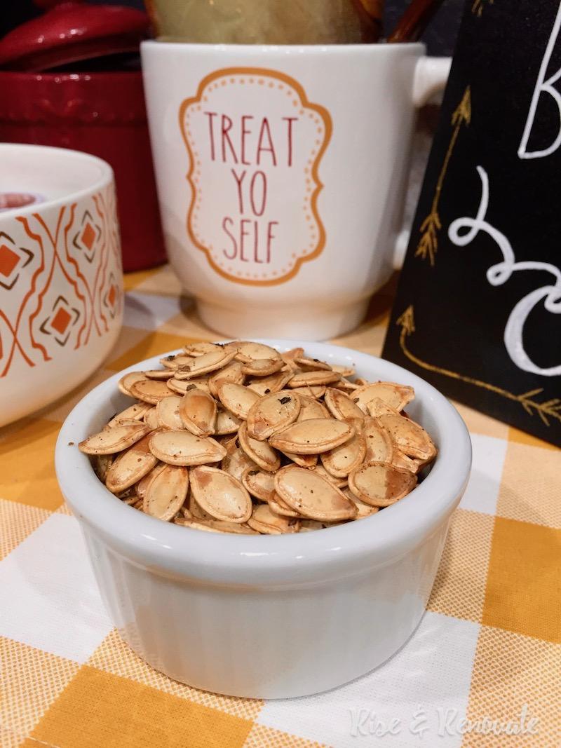 carving pumpkins pumpkin seed recipe