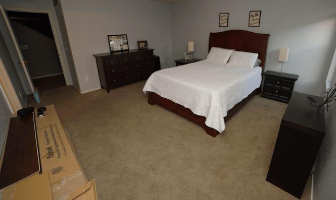Bedroom Reveal - Before