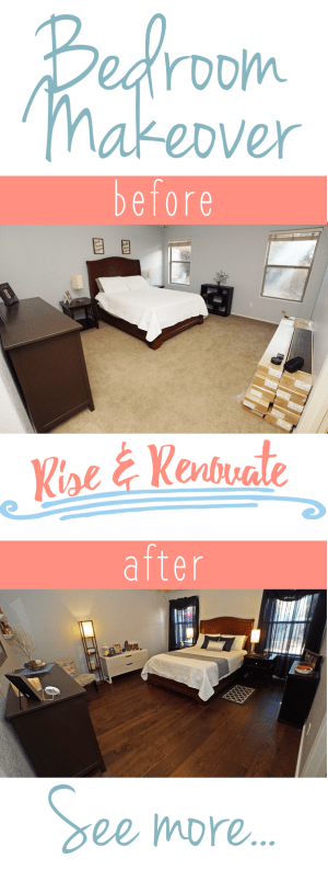 Master Bedroom Makeover Pin