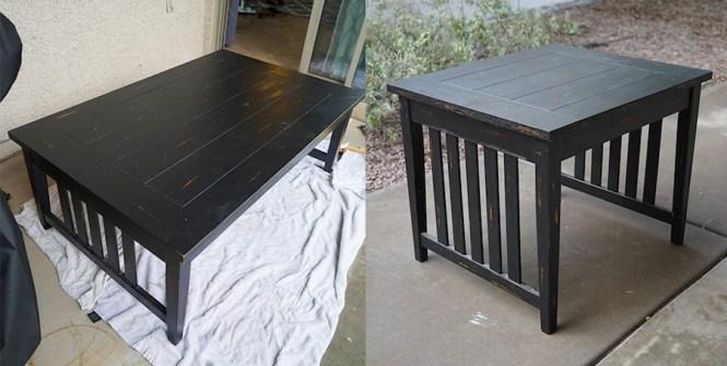 DIY Coffee Table Before