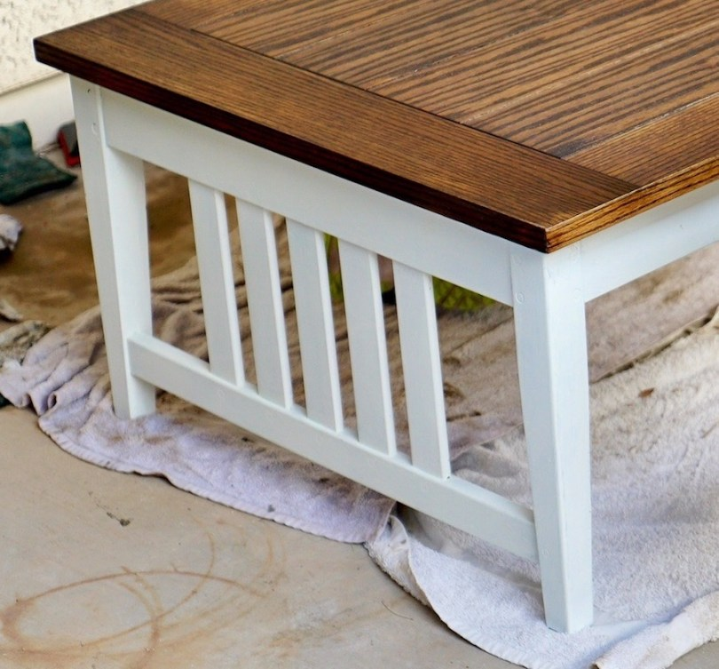 Refinishing Wood - Chalk Paint