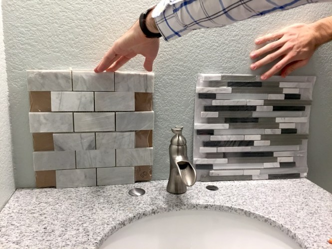 Deciding Between Two Tile Options