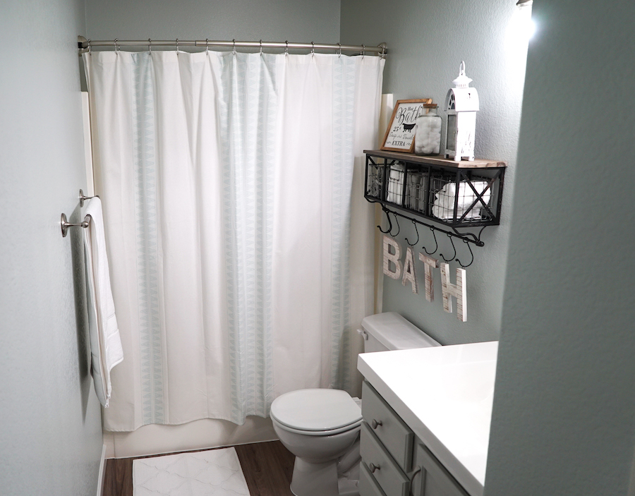Bathroom Makeover After