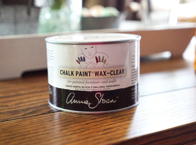 Painting Furniture - Wax