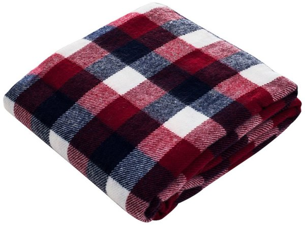 Fall Decor Plaid Throw