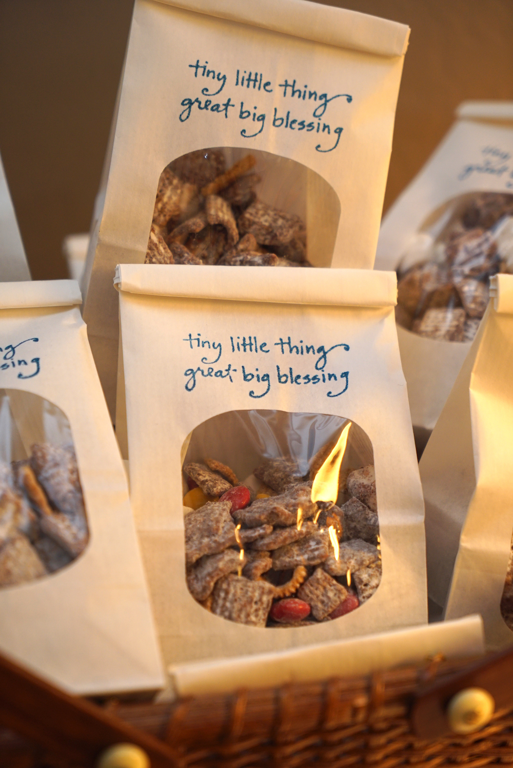 adventure-themed baby shower goody bags