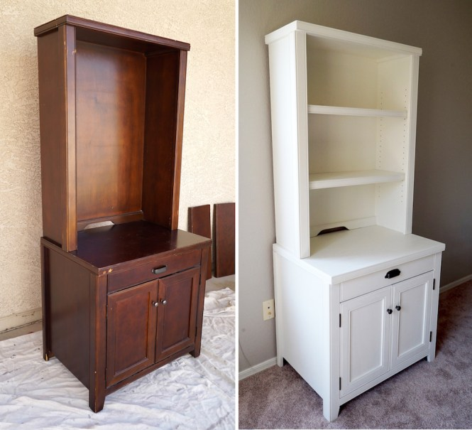 Adventure Nursery - Hutch Before and After