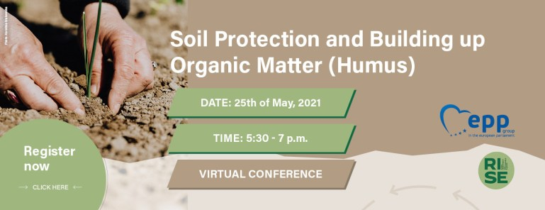 25.05.2021 | Soil Protection and Building up Organic Matter (Humus)