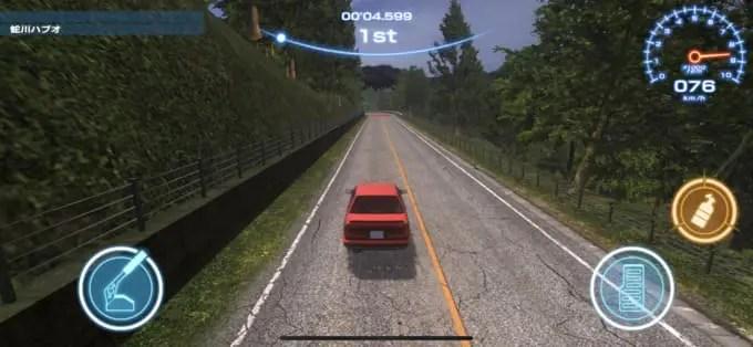 『ザ・峠 ~DRIFT KING 1980~』仮想空間に再現された実在する公道を走ることができるレースゲーム