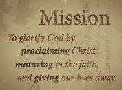 mission glorify god