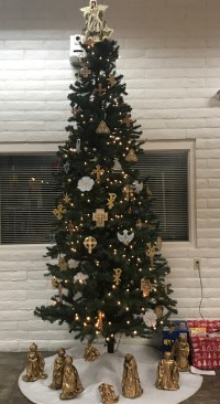 Narthex Christmas Tree