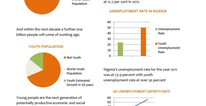 youth unemployment in nigeria Effects of youth unemployment and its consequence: a survey of youth in yobe state, nigeria wwwiosrjournalsorg 92.