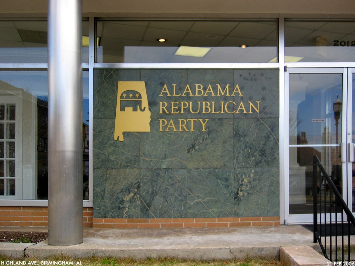 The Alabama GOP headquarters. Photo Credit: Dystopos/ Flickr (CC By 2.0)