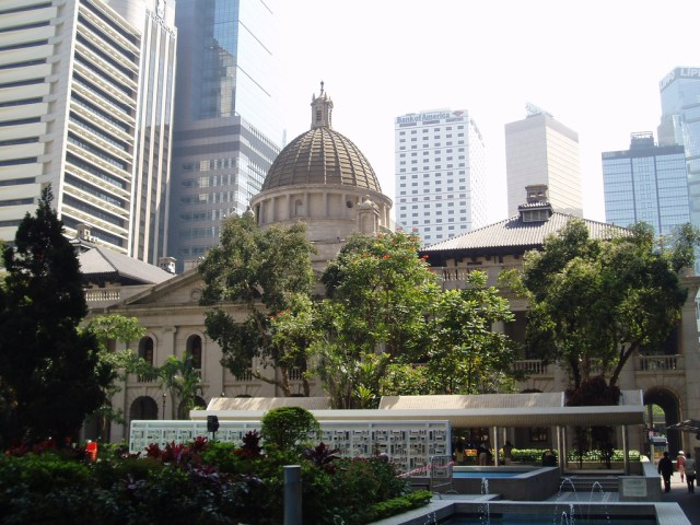 The LegCo building. Photo Credit: Steve Cadman/ Flickr (CC By 2.0)