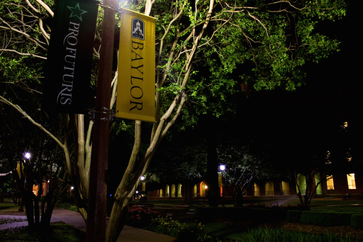 Baylor University at night. Photo Credit: Danny Huizinga/ Flickr (CC By 2.0)