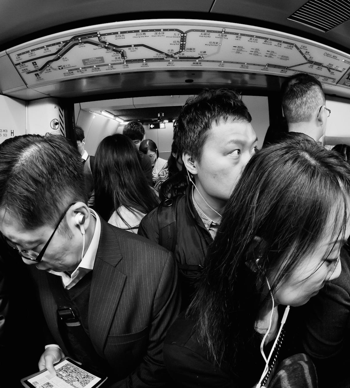 Rush hour in Hong Kong. Photo Credit: David Guyler/ Flickr (CC By 2.0)