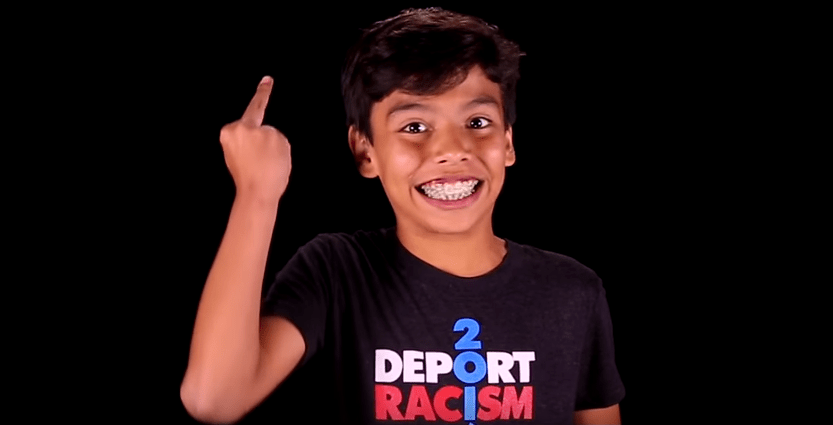 Latino Kids Hurl Profanity At Donald Trump In New Disturbing video