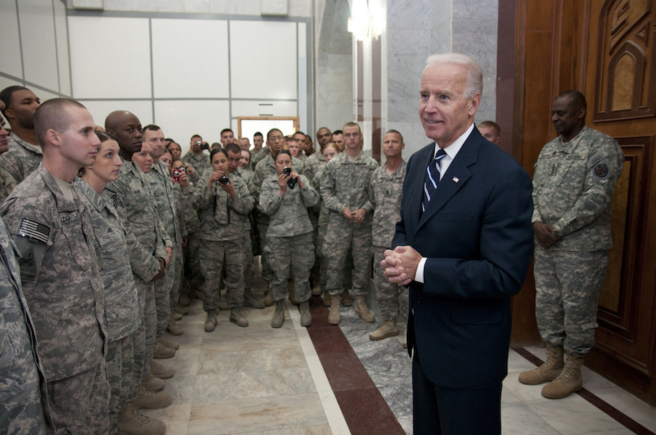 American Vice President Joe Biden in Iraq in 2011. Photo Credit: U.S. Forces Iraq/ Flickr (CC By 2.0)