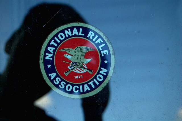 The logo for the National Rifle Association. Photo Credit: Bart/ Flickr (CC By 2.0)