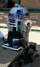 Lunch with R2D2 Maker Faire 2015