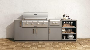 Saber Urban + Built-in BBQ - Outdoor Kitchens Vancouver