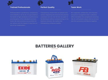 Jaddah Batteries & Auto Parts Center Peshawar