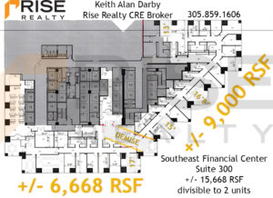 Southeast financial center 200 south biscayne boulevard miami floor plan