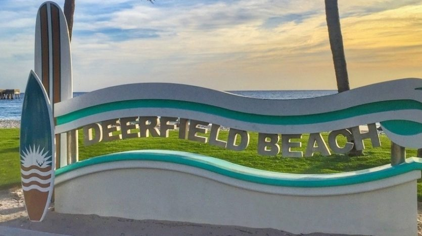 Deerfield Beach is award winning for its cleanliness and beauty