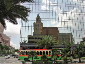 Free Trolleys convenient way to commute around beautiful Coral Gables Miami