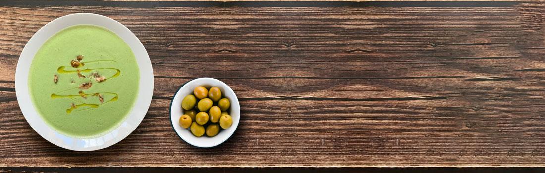 califlower oilive oils on a table