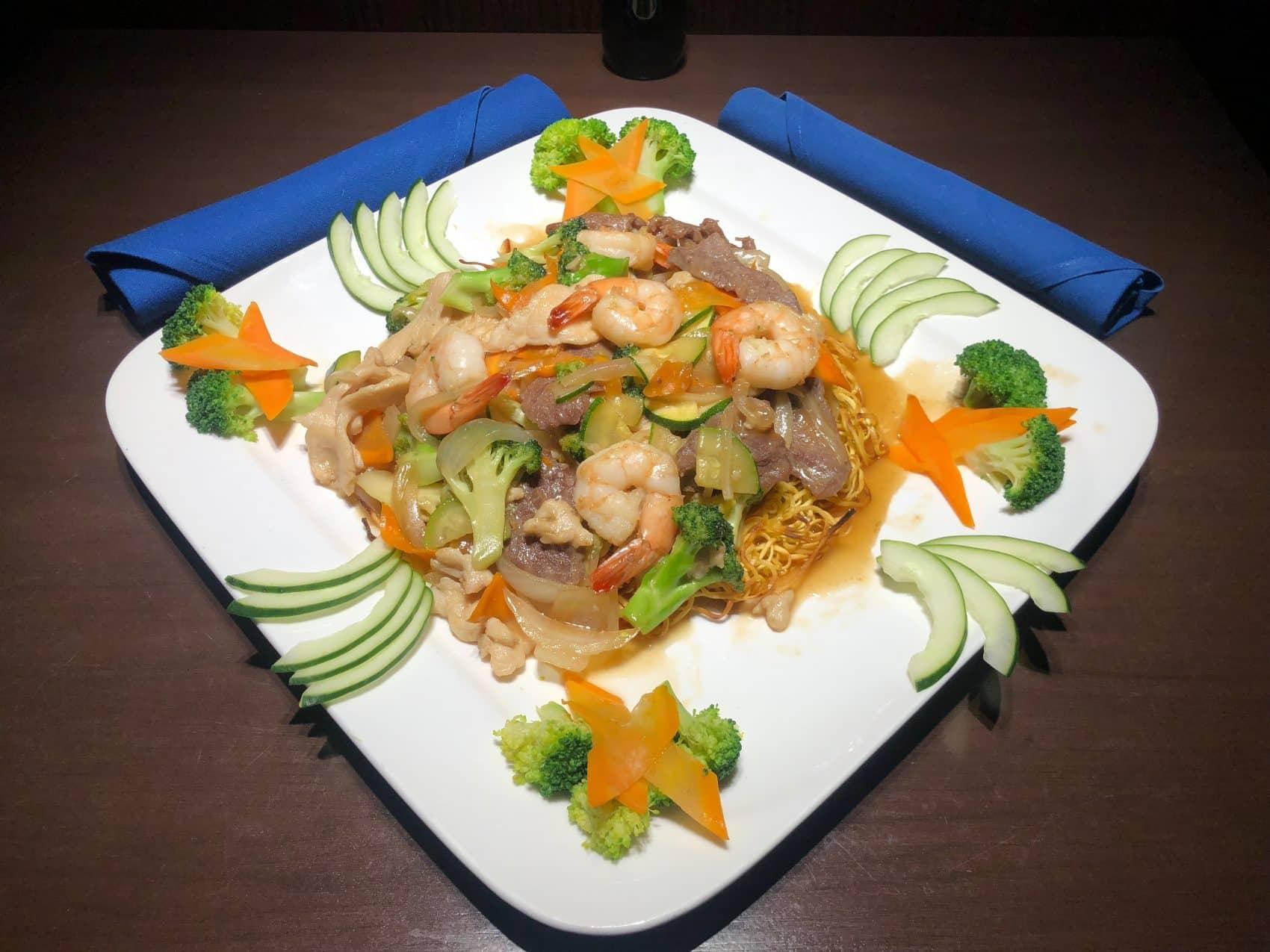 ShrimpMeat Crispy Noodles1