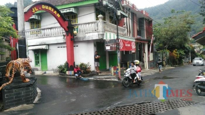 Pengunjung Villa Songgoriti Batu Anjlok