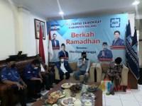 Didatangi DPD Partai Demokrat Jatim, Ghufron Marzuki: Target 1 Fraksi