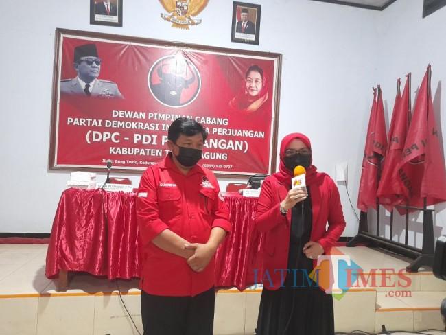 Gatot Sunu Dipercaya DPP PDI Perjuangan Sebagai Cawabup Tulungagung