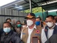Kepala BNPB Tinjau RS Lapangan Idjen Boulevard