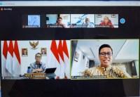 BPJS Ketenagakerjaan Audiensi Virtual dengan Kemenhub