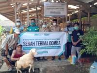 Laznas Nurul Hayat Banyuwangi Serahkan Bantuan 50 Ekor Domba