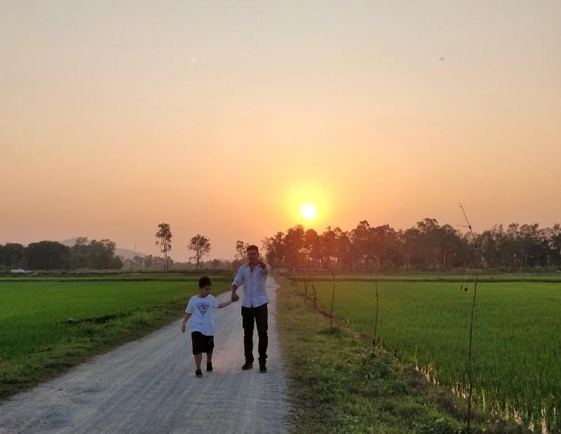 Walk back home..