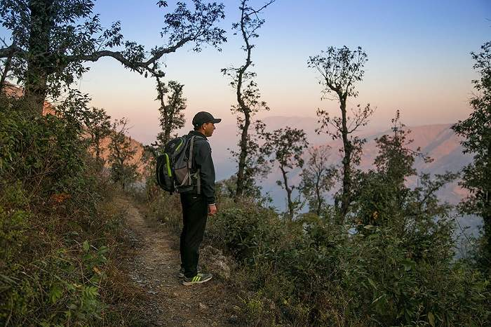 Rajpur to Mussoorie Trek