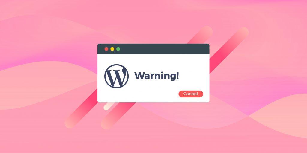 errores de wordpress