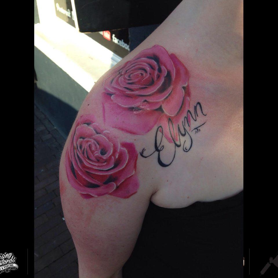 rosetattoo_colortattoo_textattoo_tattoonijmegen_risingbastards