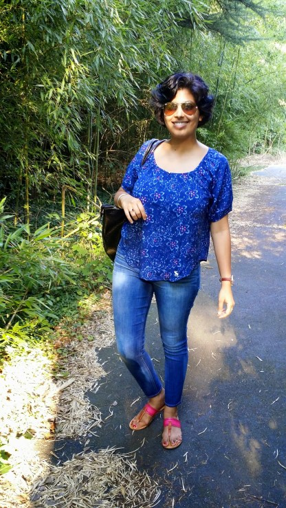 Loose Blouse and Jeans