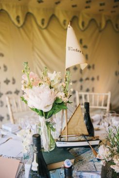 Wind In The Willows Wedding Rising out of the ocean blog tablescape