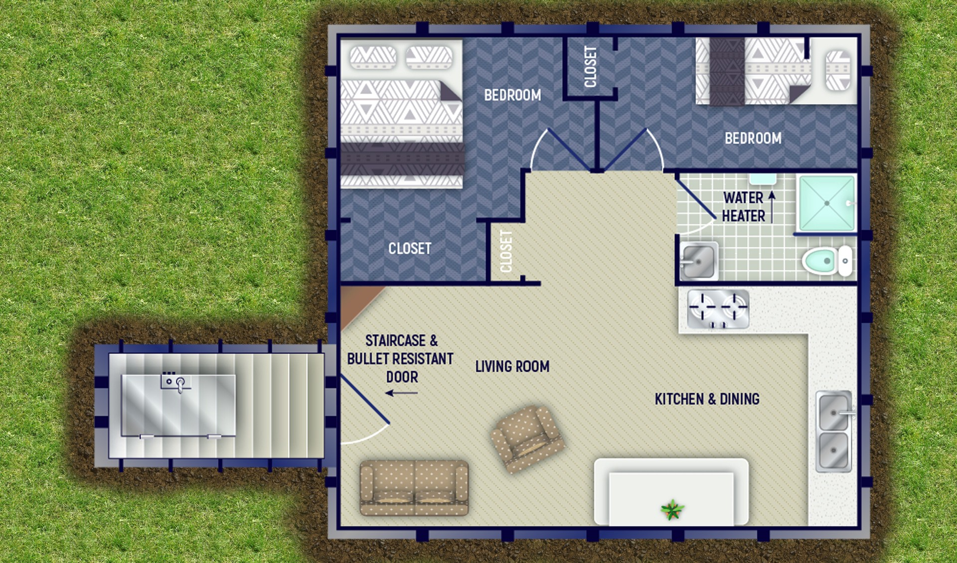 Large Layout Kitchen Plans