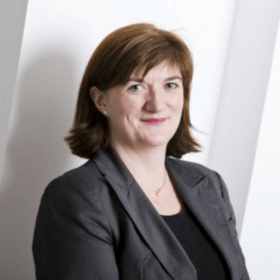 nicky morgan supporting the pipeline of women, Rising Star awards 2016