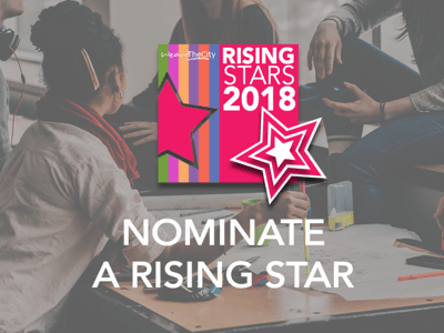Nominate a rising star banner featured