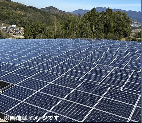 太陽光発電所 エネパーク 菊池①