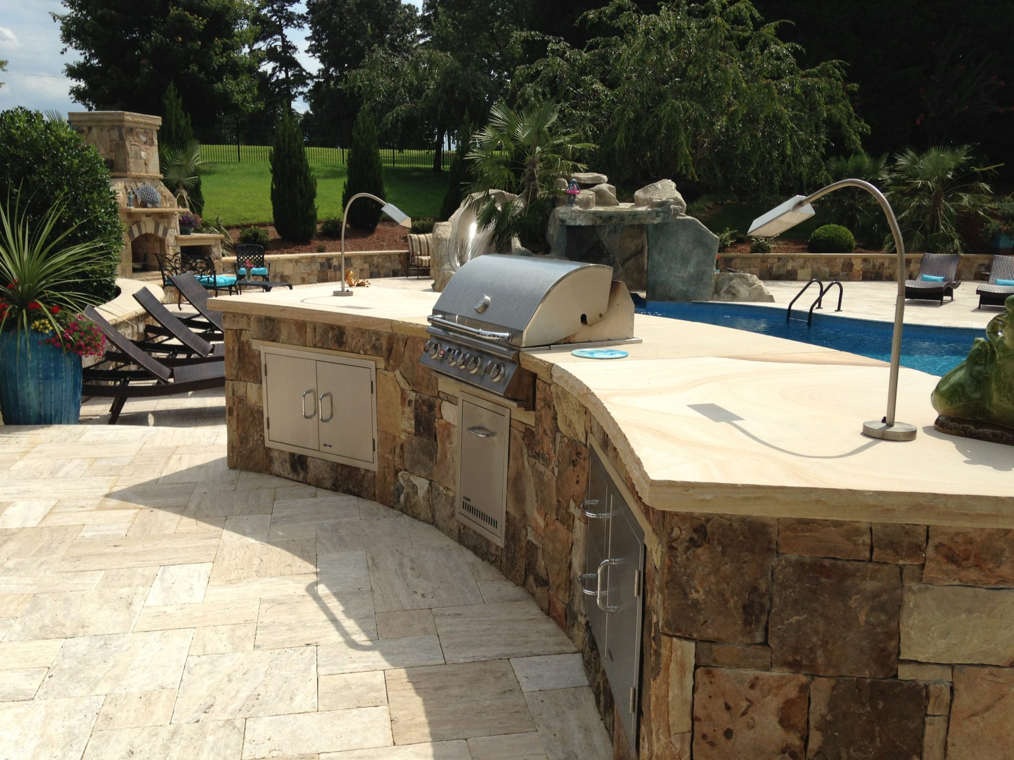 Outdoor Kitchens Amp Grills Rising Sun Pools And Spas