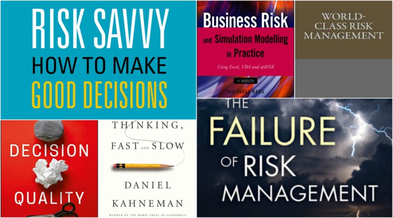 16 best risk management books (updated in 2019)